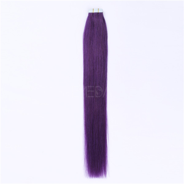 DIY Tape In Hair Extensions LJ162